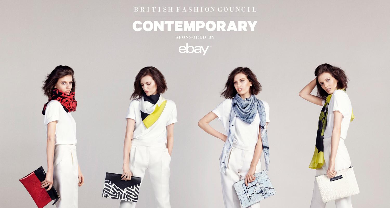 EBay announces British Fashion Council partnership recommendations
