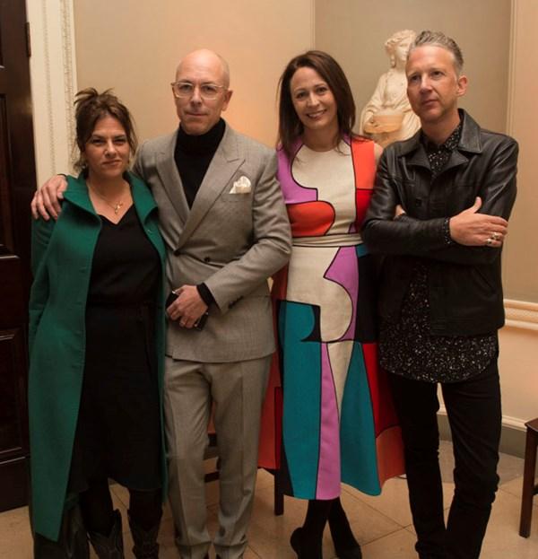 Dylan Jones, Jefferson Hack and the LFWM Ambassadors Closing Dinner
