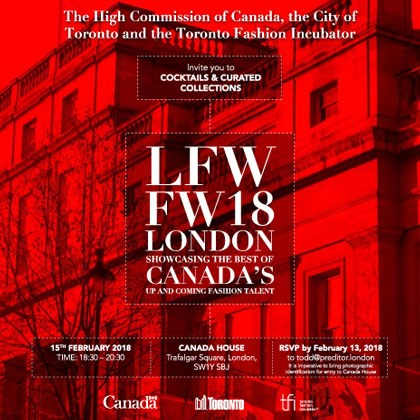 The High Commission of Canada hosts Cocktails and Curated Collections