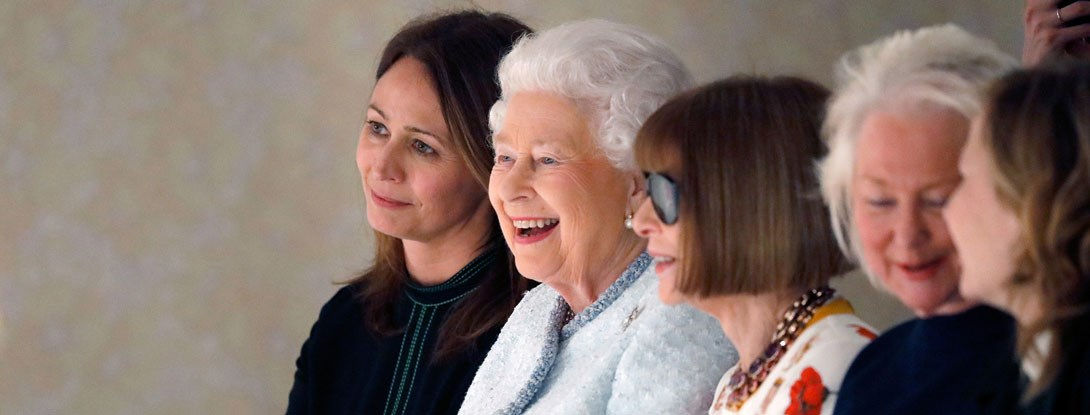 The Queen at London Fashion Week February 2018