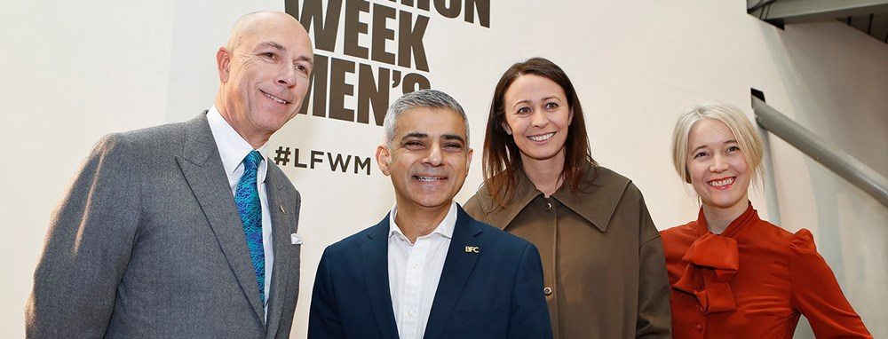 London Fashion Week Men's January 2017 opened by Mayor of London