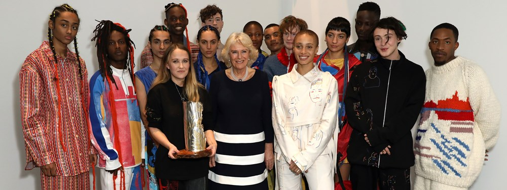 HRH The Duchess of Cornwall at London Fashion Week February 2019