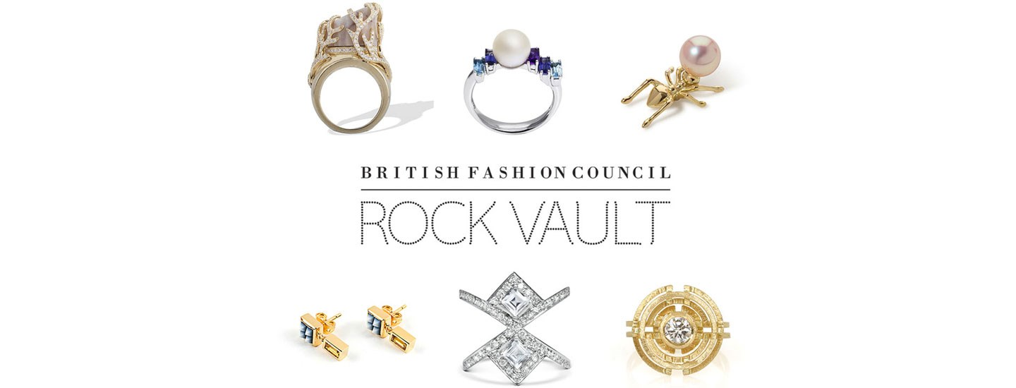 British Fashion Council Rock Vault Jewellers to show at Goldsmiths' Fair