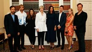 A Celebration of British Fashion at 10 Downing Street