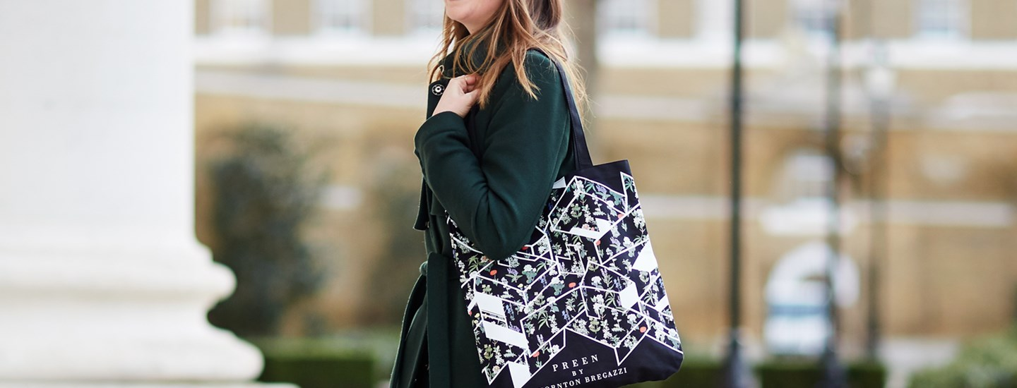 Preen by Thornton Bregazzi designs London Fashion Weekend Limited Edition Tote