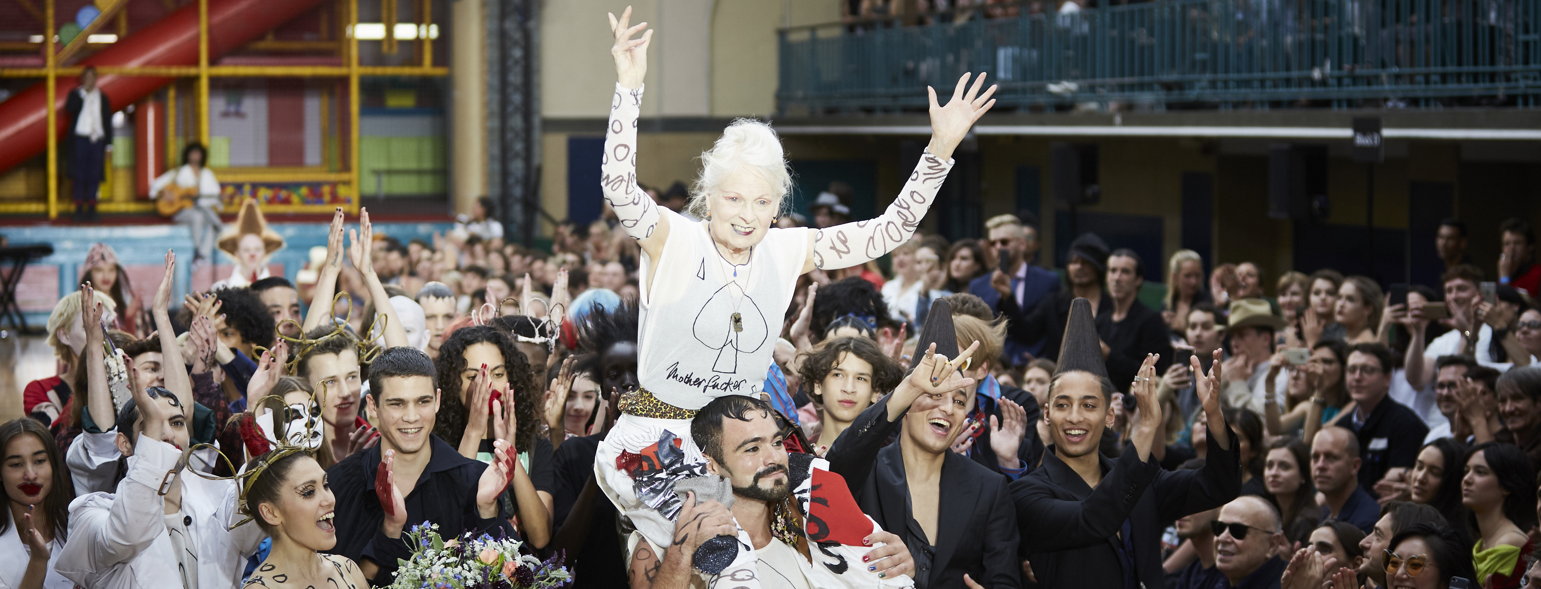 British Fashion Council and Vivienne Westwood have teamed up to fight climate change