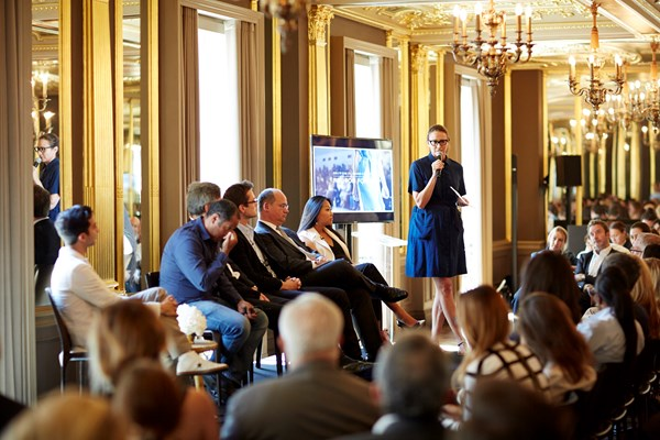 Fashion Forum at Hotel Café Royal, June 2015