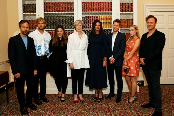 A Celebration of British Fashion at 10 Downing Street