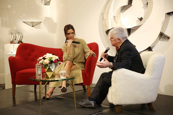 Victoria Beckham in Conversation with Tim Blanks